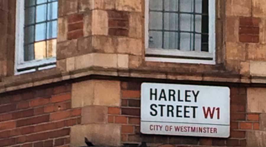 Viaje al Centro Bach: LONDRES-Harley Street